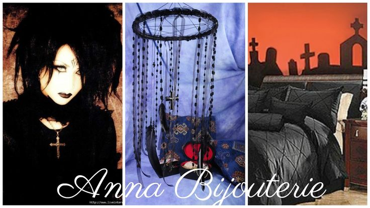 all products in my profile made personally, all the goods are in stock - items can sent in the order day        Black Goth Mobile handmade exclusive Dreamcatcher bedroom Goth Mobiles bedding Dream Catcher Dream catchers Black Gothic halloween mobile        This amulet like Dreamcatcher - is not just a decoration of the interior. It is a powerful amulet, which is endowed with many properties:    - Dreamcatcher protects and ensures a healthy sleep to the owner;    Dreams -Lovets helps in…