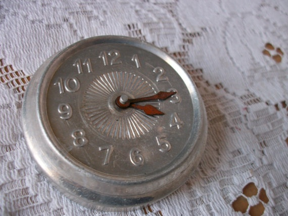 vintage french doll clock