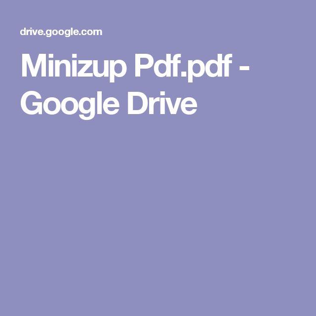 Minizup Pdf.pdf - GoogleDrive