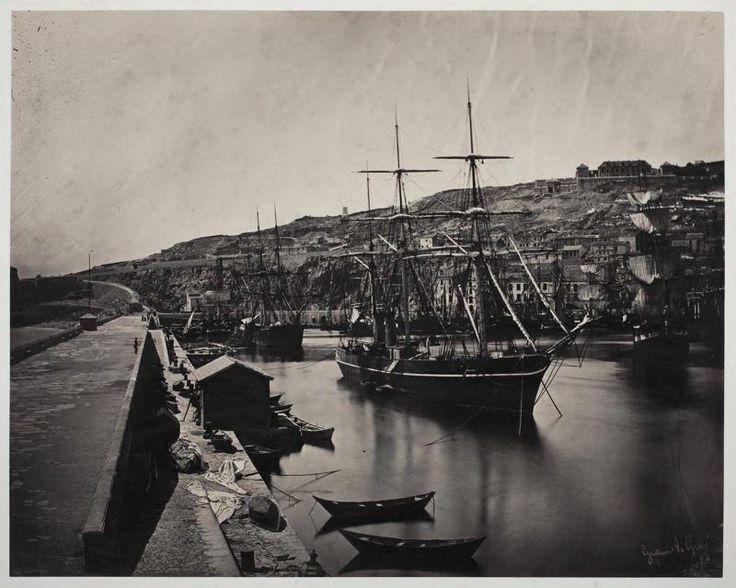 Port et Ville de Sète-Mediterranée, 1857
