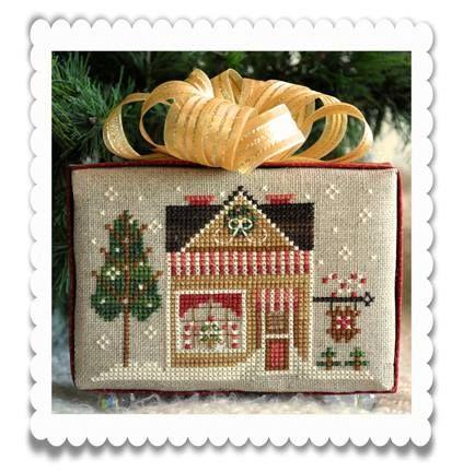Sweet Shop. Gráfico de Little House Needleworks. En www.lacasinaroja.com