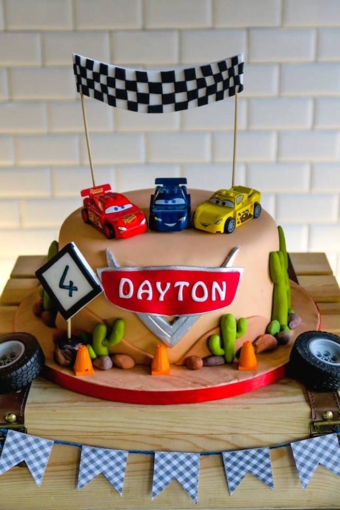 Lightning McQueen Cars Birthday Party p a r t y t i m e