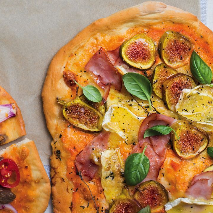 Ham, fig and Brie pizza - MyKitchen