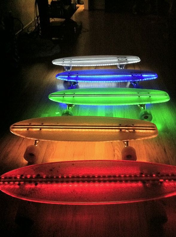 LED Skateboards Will Scare Old People More Than Usual