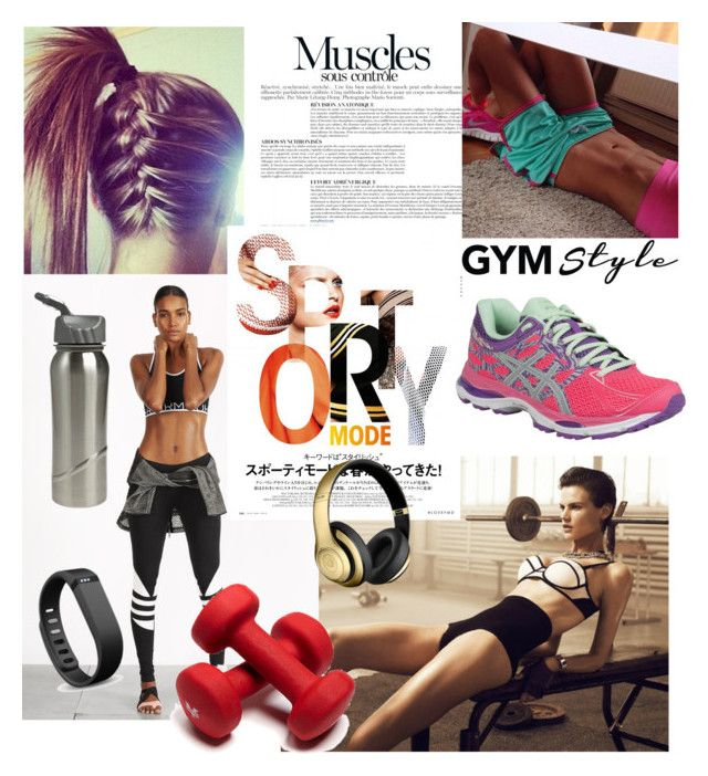 """asics style"" by saletovic ❤ liked on Polyvore featuring мода, H&M, Anja и Asics"