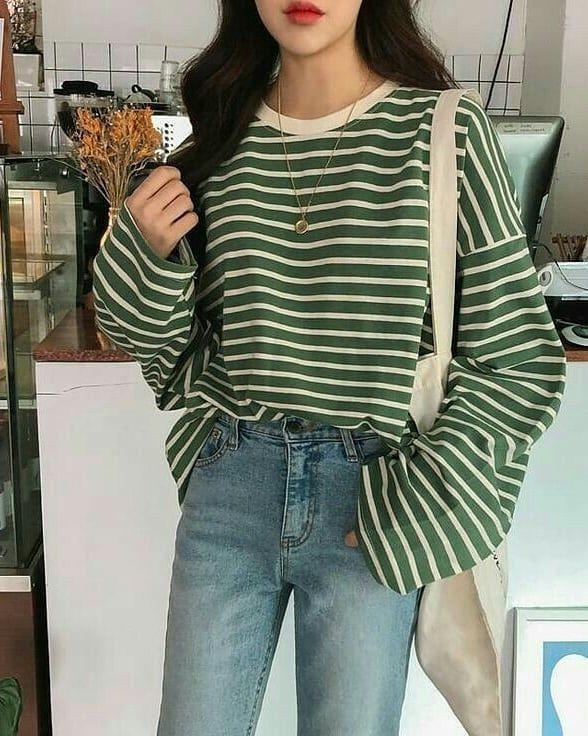 Girl Casual Outfit Inspire Style Winter 2021 Cute K Pop Shopping Vsco School Korean Street Fashion Korean Fashion Korean Fashion Casual