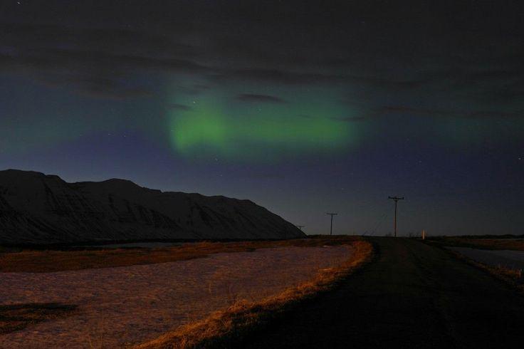 #Islandia #Iceland #hrisey #zorza