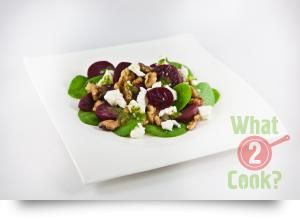 Beetroot Salad with Feta & Dill