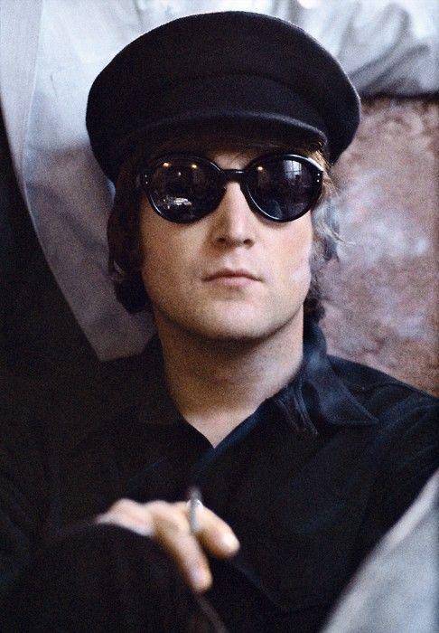 .Music, The Beatles, Heroes, Fab, Beatlemania, Eyewear, Black Glasses, John Lennon