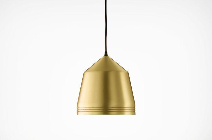 Cooper pendant - Brass