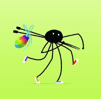 Araignée Gambadeuse