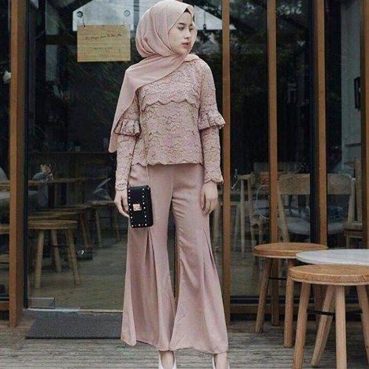 Hasil Gambar Untuk Model Baju Pesta Satin 2018 Ajie Hijab