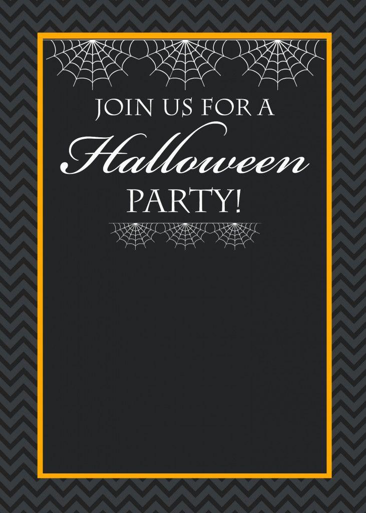 Free Halloween Invite Templates Free Printable Halloween Party I Halloween Party Invitation Template Halloween Party Invitations Halloween Birthday Invitations