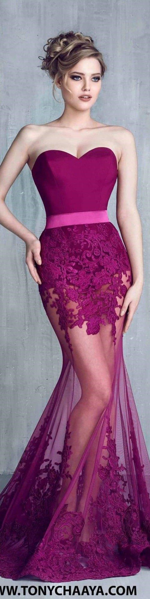 Asombroso Púrpura Vestidos De Fiesta Armarios Componente - Colección ...