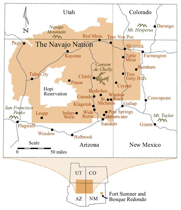 In Ironclad Devotion, Zac's grandparents are in the Navajo Nation, the biggest Native American reservation in the U.S. (They live south of Kayenta.) Flagstaff, another setting in the story, is in the lower left of this map. (Cave Creek, Zac's hometown, is off the map in the center of Arizona.) http://jamigold.com/ironclad-devotion/