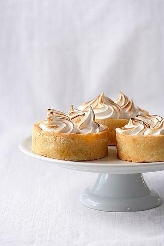 pumpkin meringue tartlettes