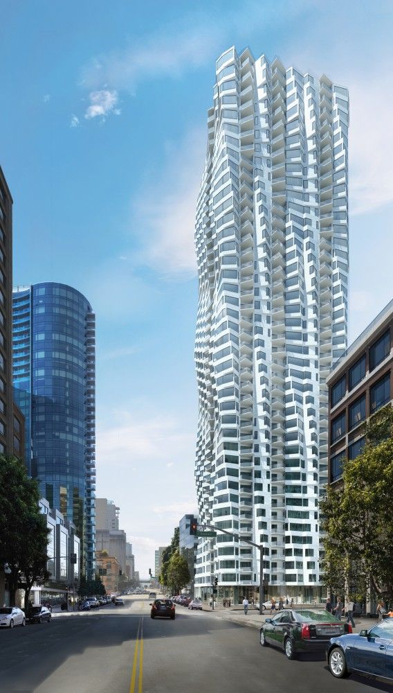 Studio Gang Architects @studiogang Reveals Design of Twisting San Francisco Skyscraper. I like it and would love to see some plans!