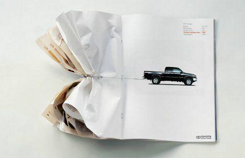 Creative Ideas at Work - Toyota Ad #hoseltonsellstoyotas www.hoseltontoyota.com