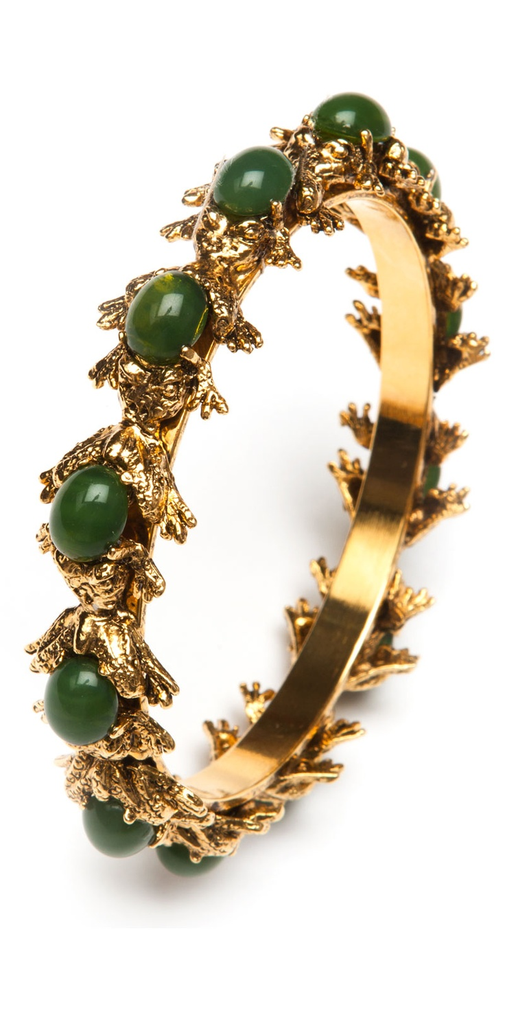 suno golden frog bracelet
