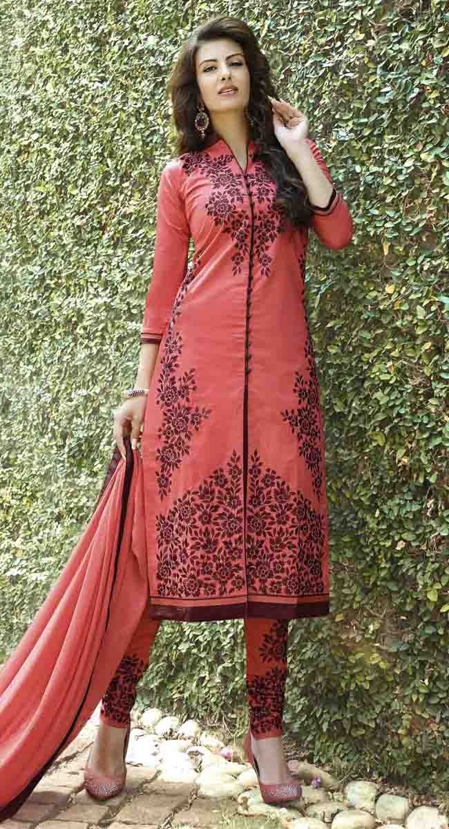 http://shreemadhufashion.com/salwar-kameez/tantalizing-red-cotton-salwar-kameez.html