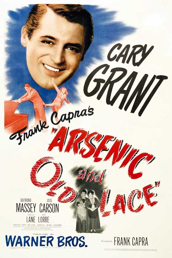Arsenic and Old Lace 11x17 Movie Poster (1944)