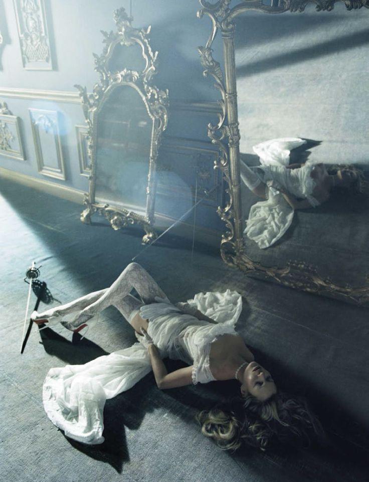 Kate Moss by Tim Walker, Vogue Italia, December 2015.