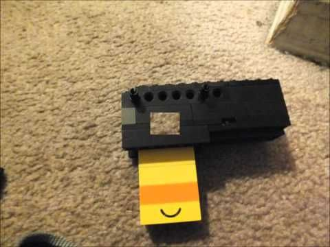 How to Make a Mini Lego Pistol That Shoots (Bolt-Action) - YouTube