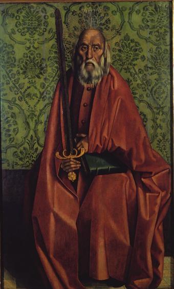 Nuno Gonçalves - São Paulo (c. 1450-1490, MNAA)