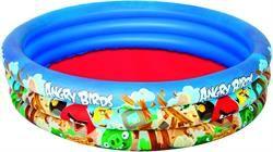 "Bestway Angry Birds Çocuk Havuzu 60""x12"" 3-Ring Pool (96108B)"