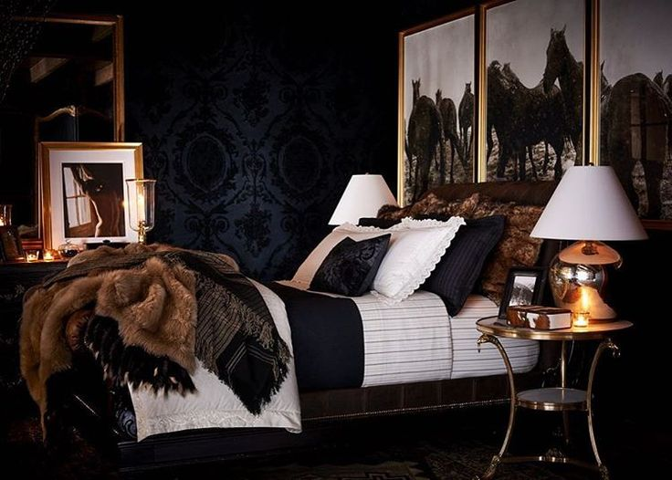 "3,050 Likes, 24 Comments - @ralphlaurenhome on Instagram: ""Antiqued lace detailing meets chalk striped wool and tipped shearling in a bedding collection…"""