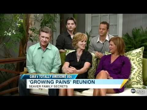 Where Are They Now?  'Growing Pains' Cast Reunites on 'Good Morning America' (10.05.11)