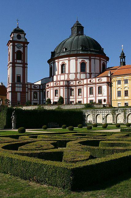 The castle of Jaroměřice nad Rokytnou - Trebic, Vysocina, Czech Republic