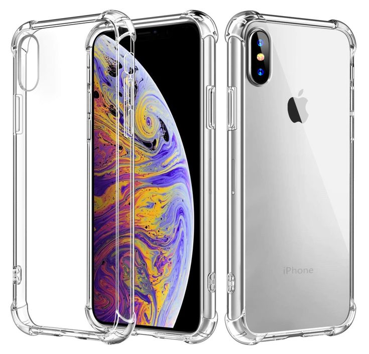 Fits iPhone XR Hybrid Shockproof Thin Clear TPU Bumper Case $5.97 #iphone #xr