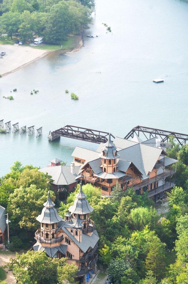 Beaver, Arkansas... just 6 miles from Eureka Springs...Castle Rogue's Manor