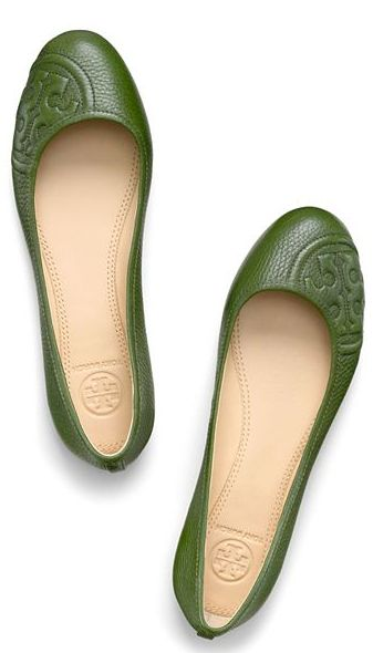 Les souliers verts....