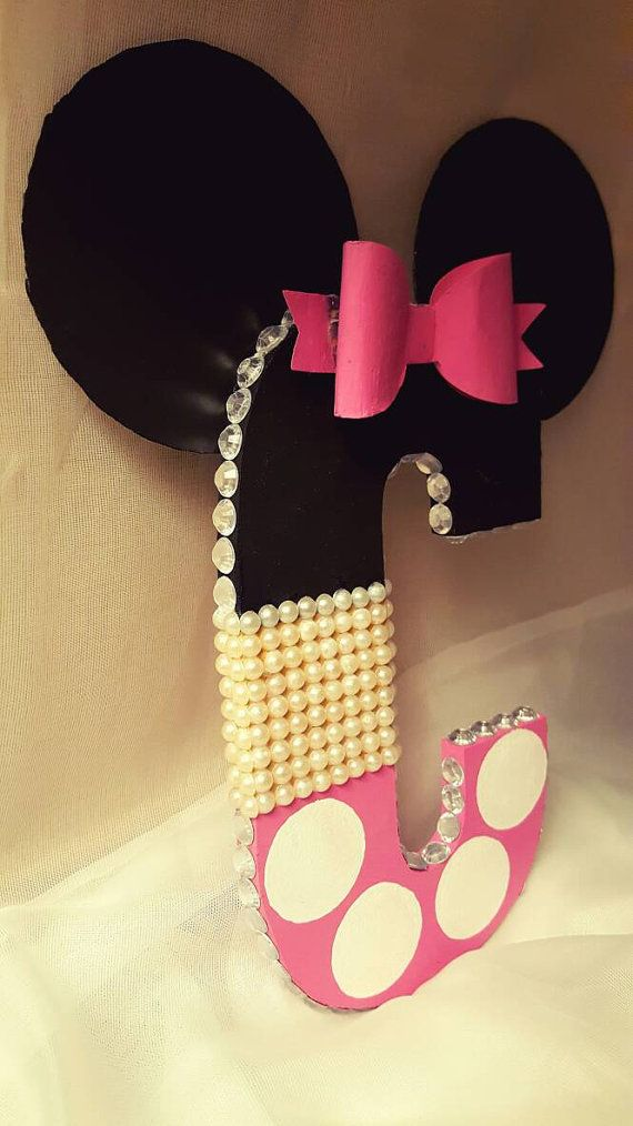 Minnie Mouse Letter for Girl's Room|Minnie Mouse Decor|Minnie Mouse Nursery Letters|Christmas Gifts for Girls|Minnie Mouse Gifts                                                                                                                                                                                 More