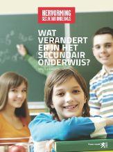 Website over de hervorming van het secundair onderwijs in België. #innovatie #onderwijs #leerkracht