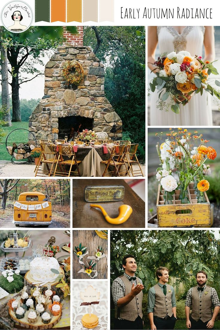 Early Autumn Radiance Rustic Wedding Inspiration In Rich Fall Shades