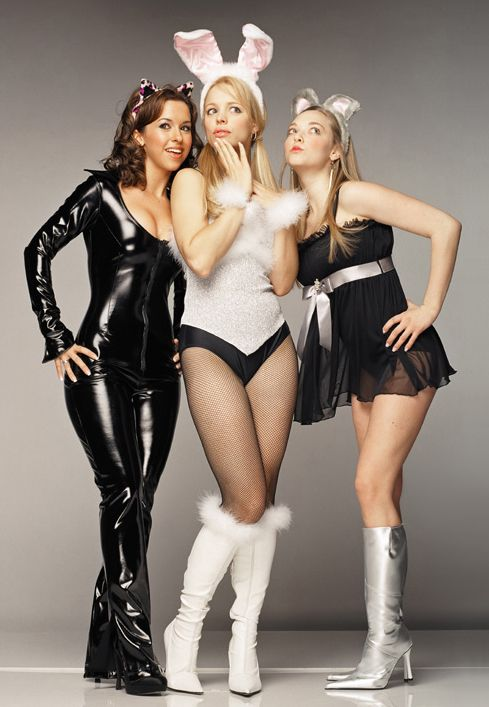 The slutty Halloween costumes of the plastics