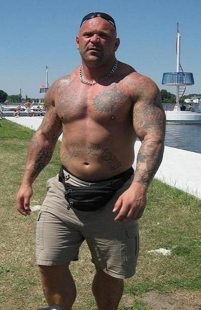 Big muscle bear cock