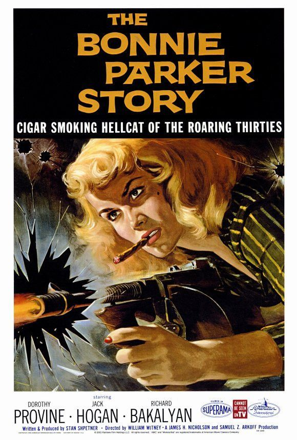 The Bonnie Parker Story 27x40 Movie Poster (1958)
