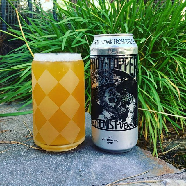 Happy Labor Day!  Enjoying a new beer today, Alchemist's Heady Topper a DIPA extremely drinkable and loaded with American hops and at 8% ABV sure packs a punch.  Cheers to Craft Beer! 🍻 🚴 🍻 🚴 #craftbeer #craftbeernotcrapbeer #craftbeerlover #craftbeerjunkie #craftbeerlife #craftholic #cervezaartesanal #bier #birra #cervejaartesanal #birrartigianale #instabeer #itsafinedayforacraftbeer #itsfiveoclocksomewhere #sandiegobeer  #alchemistbeer #headytopper #beerstagram  #drinkfresh #drinklocal…