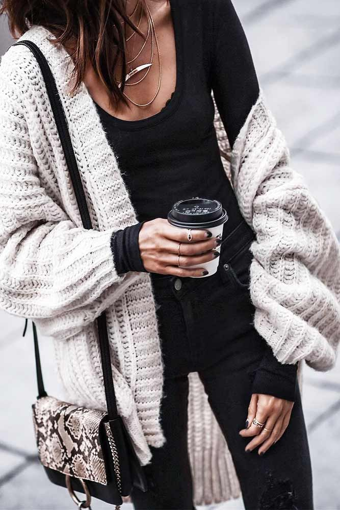 fe1bcb6c9c5 39 Cozy Outfit Ideas That Are Still Sexy
