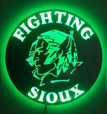 UND Fighting Sioux Logo by SimplyMetalandMore on Etsy https://www.etsy.com/listing/236804430/und-fighting-sioux-logo