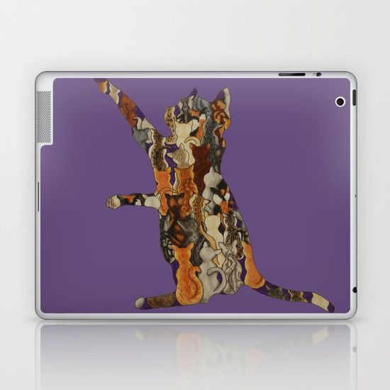 Load of Kitty's Laptop & iPad Skin by I Love the Quirky