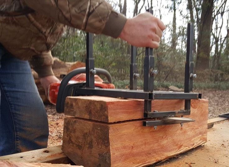 Home Made Alaskan Chainsaw Mill