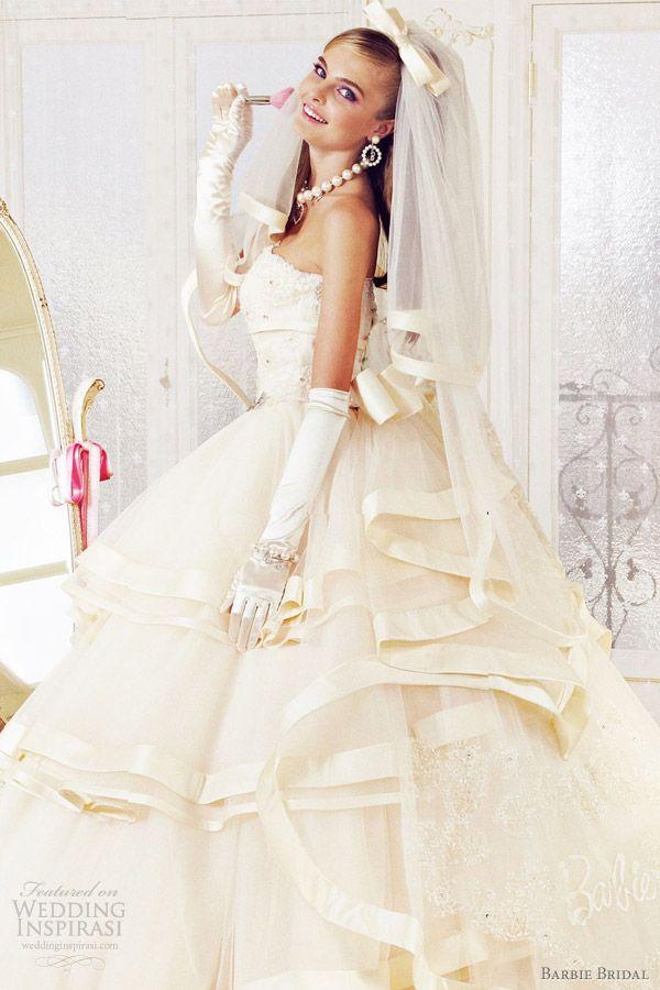 Barbie Bridal wedding dresses 2012