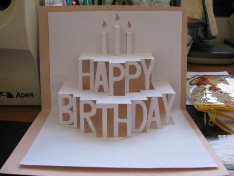 diy birthday card  | DIY COURSE——birthday card - Gwendolen的日志 - 网易博客