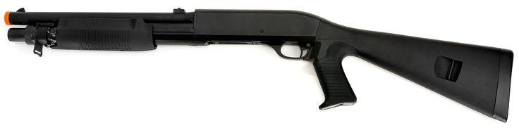 M56A Double Eagle Multi-Shot Airsoft Shotgun, Spring airsoft gun