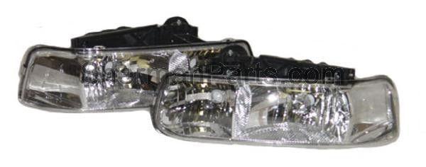1999-2002 Chevrolet Silverado Pickup (Classic) Performance Headlamp